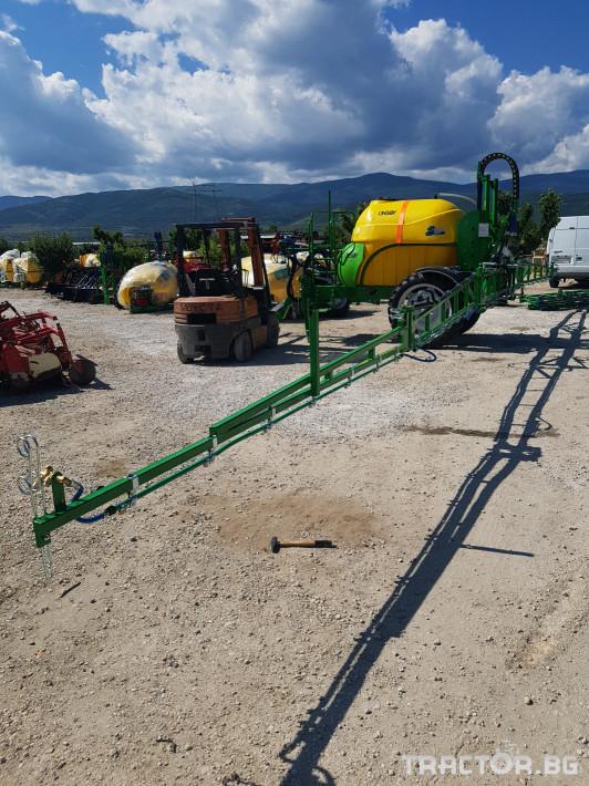 Пръскачки пръскачка турска Пръскачка Badilli 2400 liter, 18 м. щанги, пълна хидравлика 2 - Трактор БГ