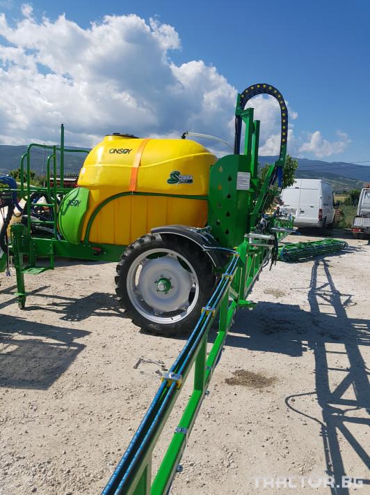 Пръскачки пръскачка турска Пръскачка Badilli 2400 liter, 18 м. щанги, пълна хидравлика 3 - Трактор БГ