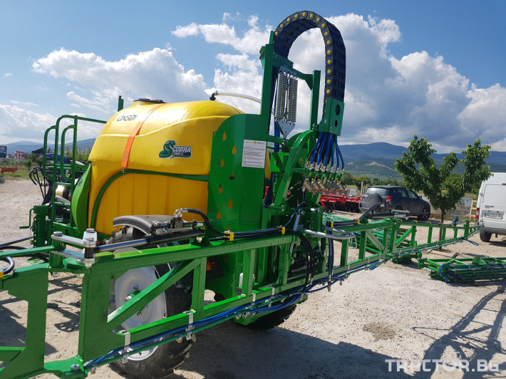 Пръскачки пръскачка турска Пръскачка Badilli 2400 liter, 18 м. щанги, пълна хидравлика 4 - Трактор БГ