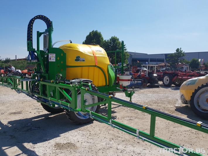 Пръскачки пръскачка турска Пръскачка Badilli 2400 liter, 18 м. щанги, пълна хидравлика 6 - Трактор БГ