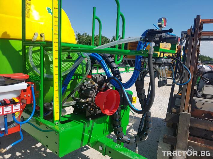 Пръскачки пръскачка турска Пръскачка Badilli 2400 liter, 18 м. щанги, пълна хидравлика 9 - Трактор БГ