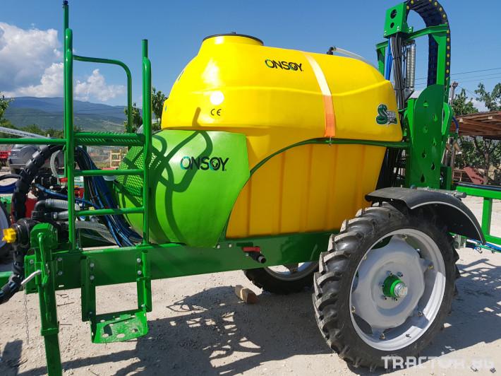 Пръскачки пръскачка турска Пръскачка Badilli 2400 liter, 18 м. щанги, пълна хидравлика 12 - Трактор БГ