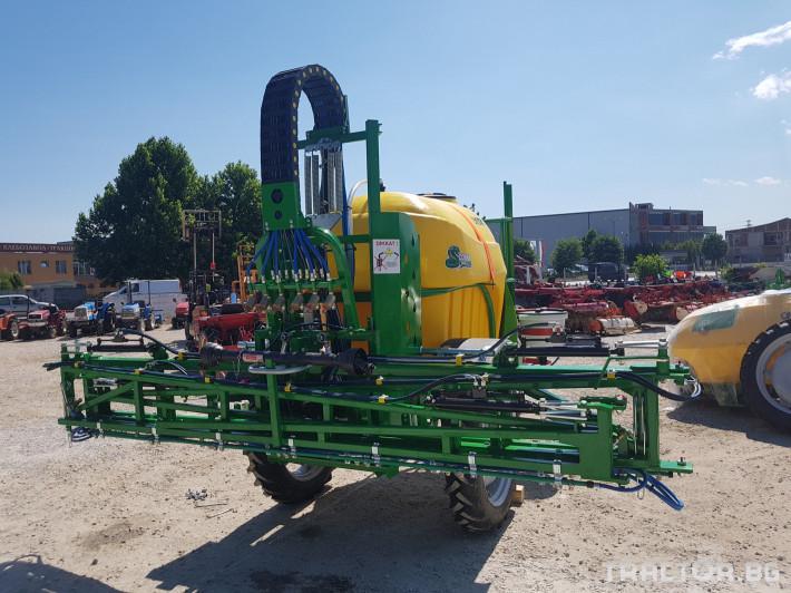 Пръскачки пръскачка турска Пръскачка Badilli 2400 liter, 18 м. щанги, пълна хидравлика 16 - Трактор БГ