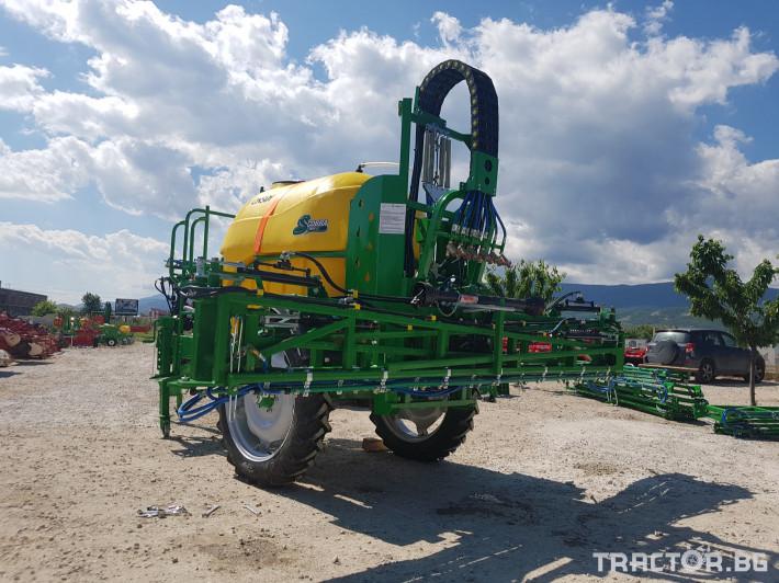 Пръскачки пръскачка турска Пръскачка Badilli 2400 liter, 18 м. щанги, пълна хидравлика 17 - Трактор БГ