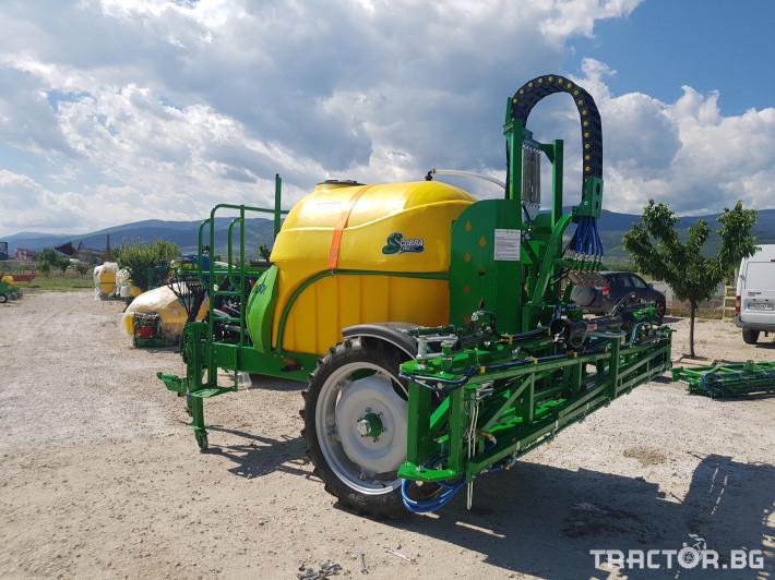 Пръскачки пръскачка турска Пръскачка Badilli 2400 liter, 18 м. щанги, пълна хидравлика 18 - Трактор БГ