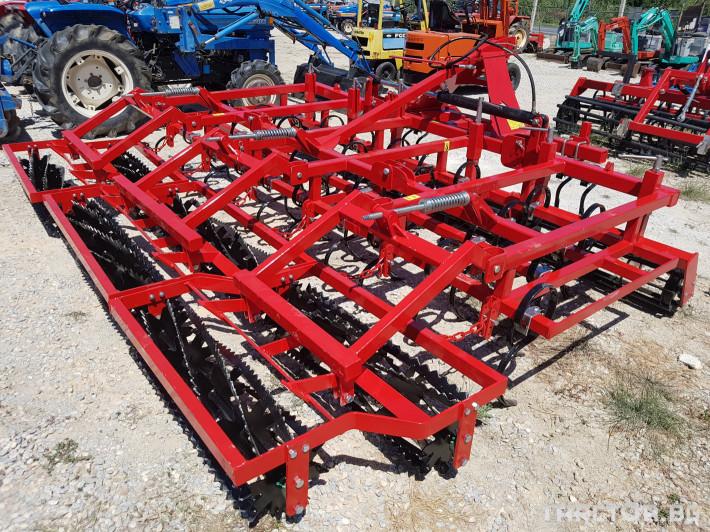Култиватори Култиватор за слята обработка 3,6 м. - Полски 4 - Трактор БГ