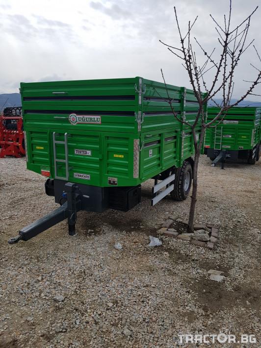Ремаркета и цистерни Турски 6 тона 0 - Трактор БГ