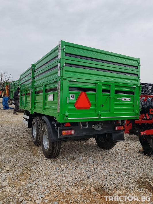 Ремаркета и цистерни Турски 10 тона 2 - Трактор БГ