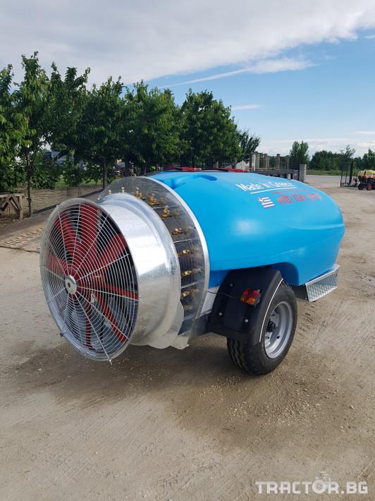 Пръскачки Пръскачка 2000 литра, pump Italy COMET 2 - Трактор БГ