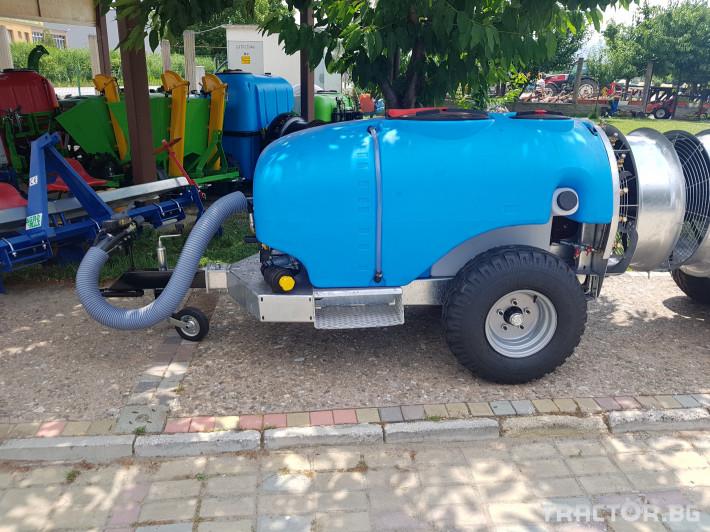 Пръскачки Пръскачка 600 литра , шаси 0 - Трактор БГ