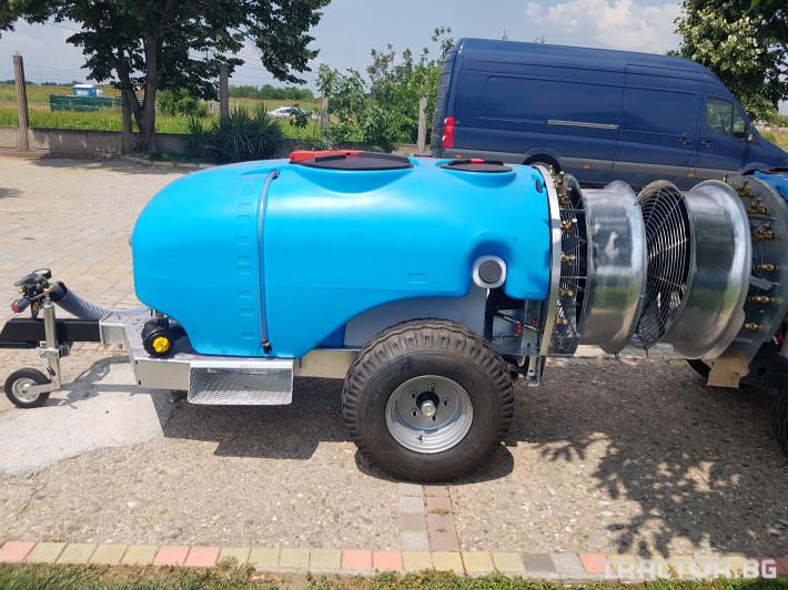 Пръскачки Пръскачка 600 литра , шаси 2 - Трактор БГ