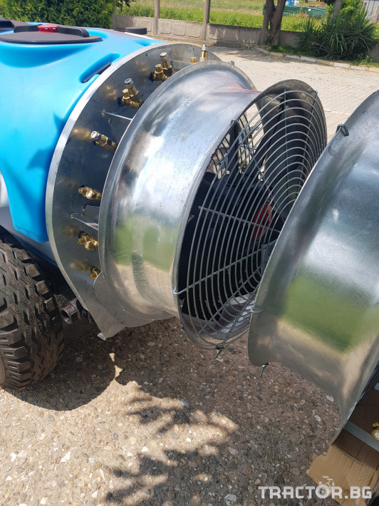 Пръскачки Пръскачка 600 литра , шаси 3 - Трактор БГ