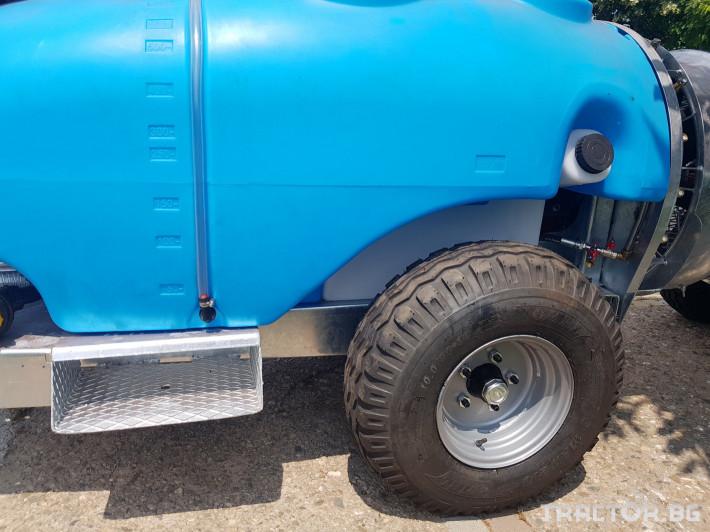 Пръскачки Пръскачка 600 литра , шаси 7 - Трактор БГ