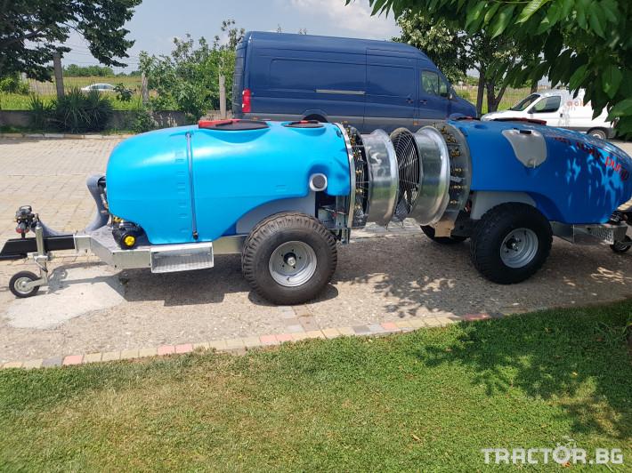 Пръскачки Пръскачка 600 литра , шаси 8 - Трактор БГ