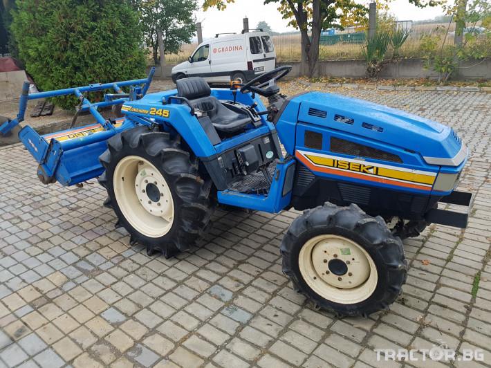 Трактори Iseki 245 1 - Трактор БГ