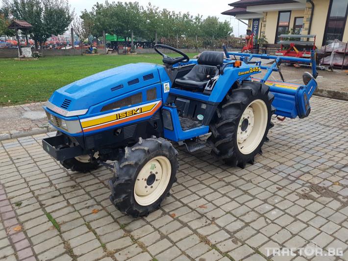 Трактори Iseki 245 2 - Трактор БГ
