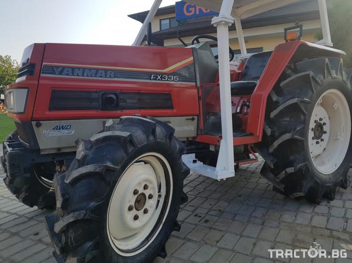 Трактори Yanmar 335 2 - Трактор БГ