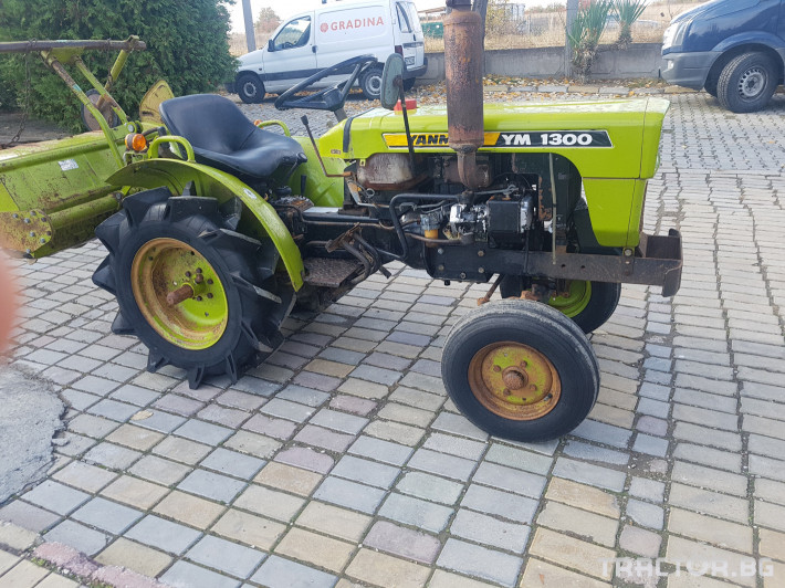 Трактори Yanmar 1300 0 - Трактор БГ