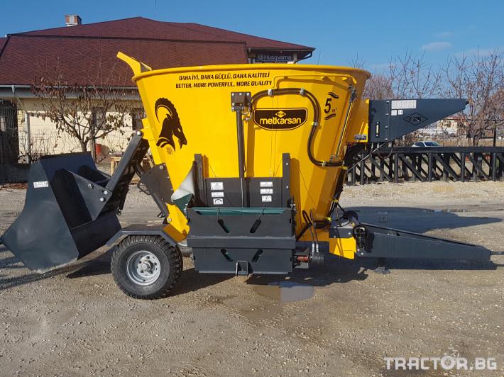 Ремаркета и цистерни Турски Миксер 5 м3 0 - Трактор БГ