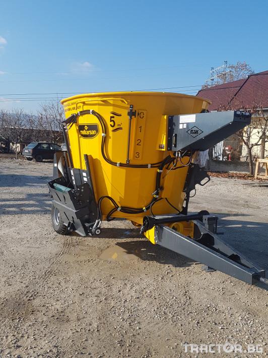Ремаркета и цистерни Турски Миксер 5 м3 1 - Трактор БГ