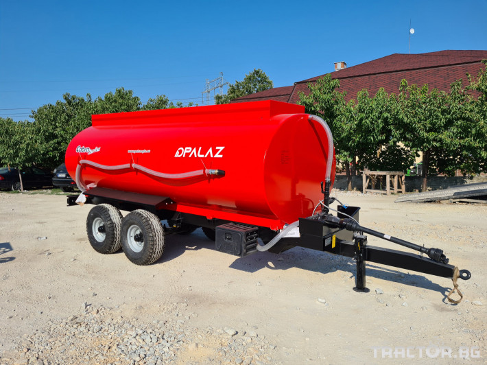 Ремаркета и цистерни Цистерна за вода 10 тона 0 - Трактор БГ
