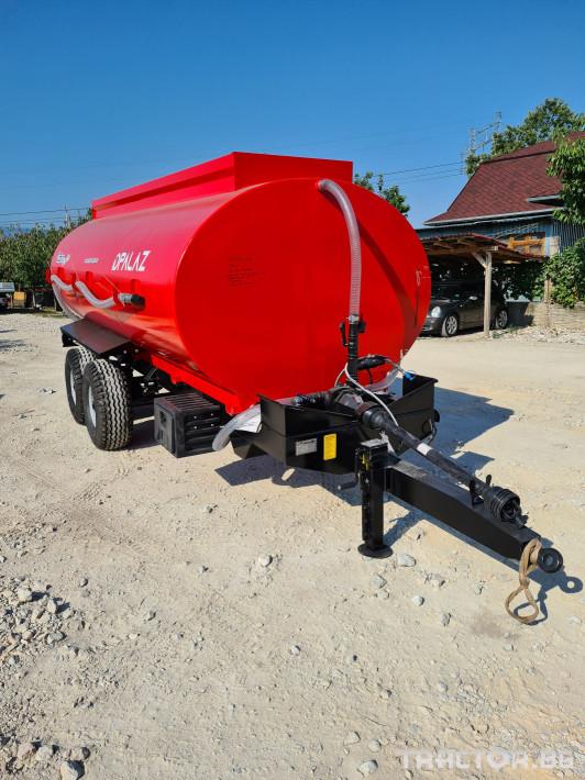 Ремаркета и цистерни Цистерна за вода 10 тона 1 - Трактор БГ