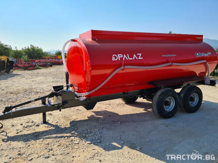 Ремаркета и цистерни Цистерна за вода 10 тона 3 - Трактор БГ