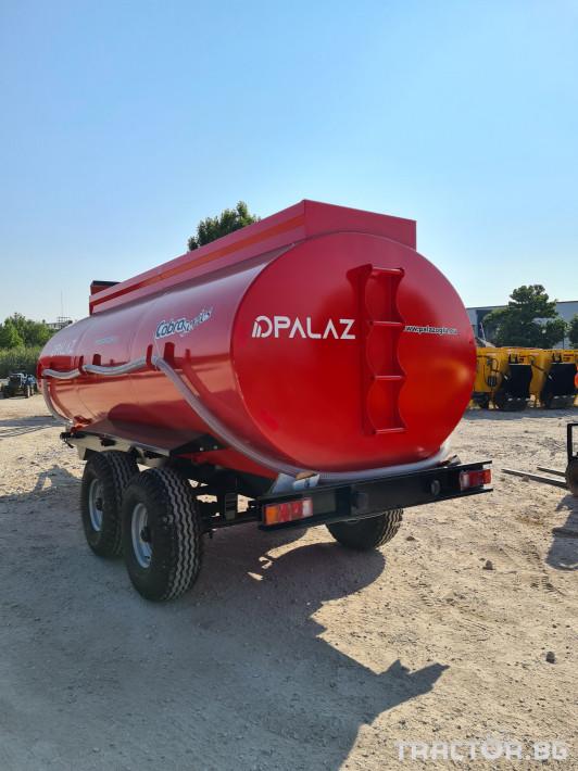 Ремаркета и цистерни Цистерна за вода 10 тона 5 - Трактор БГ