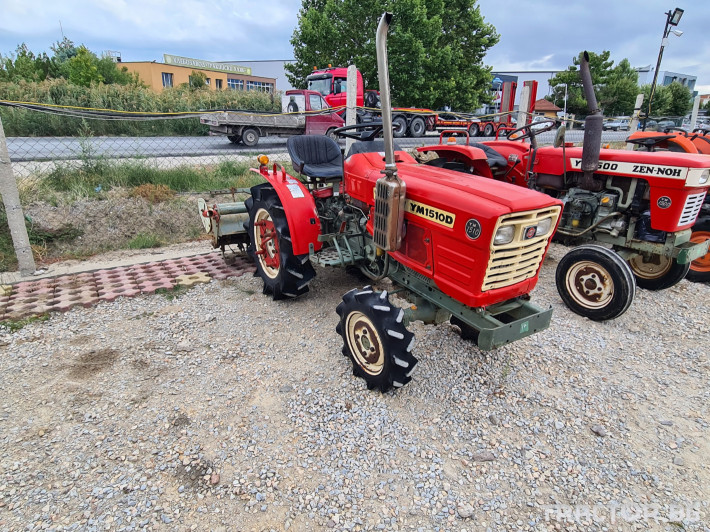 Трактори Yanmar 1500 1 - Трактор БГ