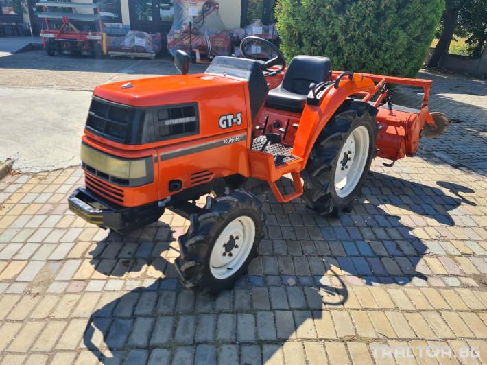 Трактори Kubota GT 3 1 - Трактор БГ