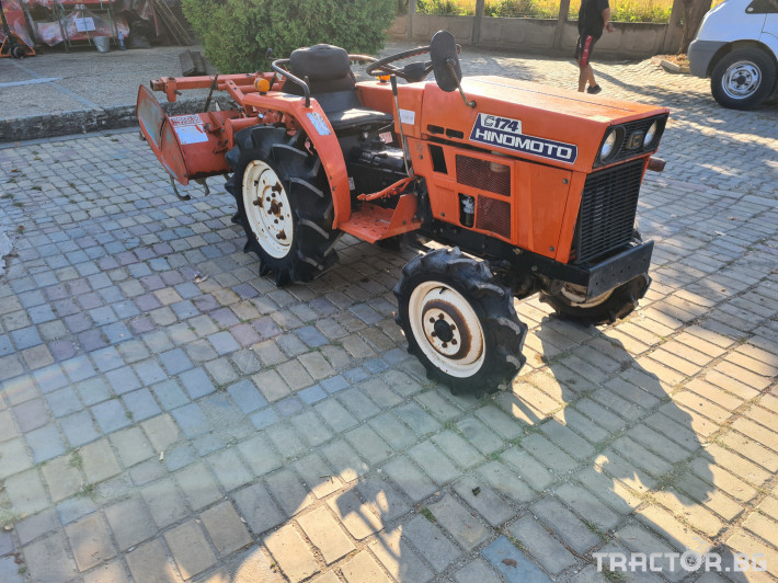Трактори Kubota Хиномото 174 0 - Трактор БГ