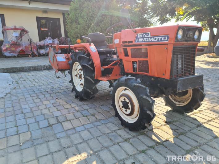 Трактори Kubota Хиномото 174 1 - Трактор БГ