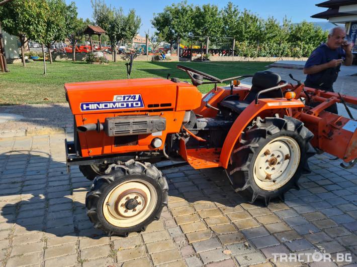 Трактори Kubota Хиномото 174 2 - Трактор БГ