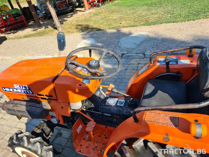 Трактори Kubota Хиномото 174 4 - Трактор БГ