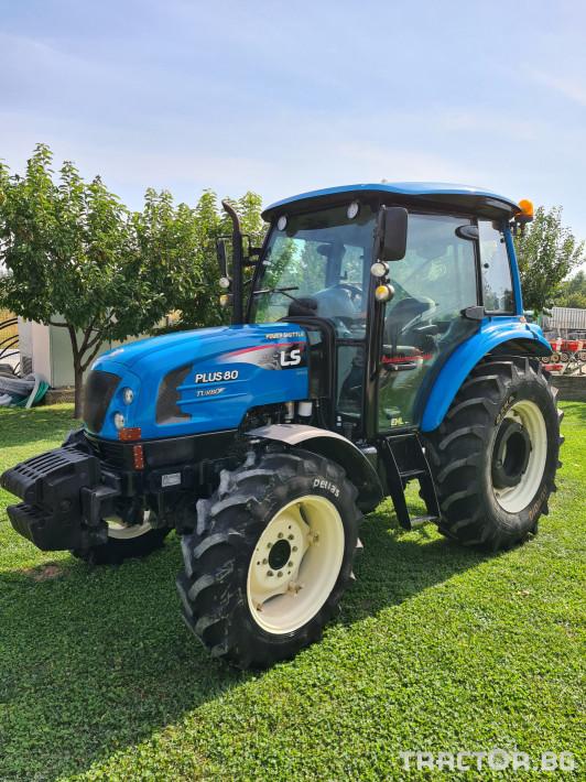 Трактори LS 80 0 - Трактор БГ