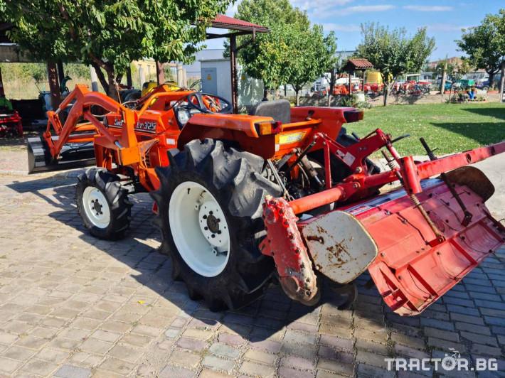 Трактори Kubota L1 325 челен товарач 3 - Трактор БГ