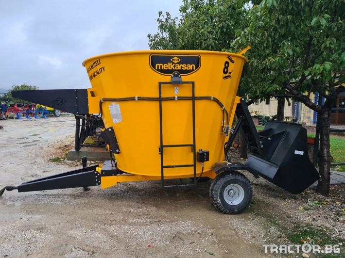 Машини за ферми Миксер ( смесител ) хранилка 8м3 0 - Трактор БГ