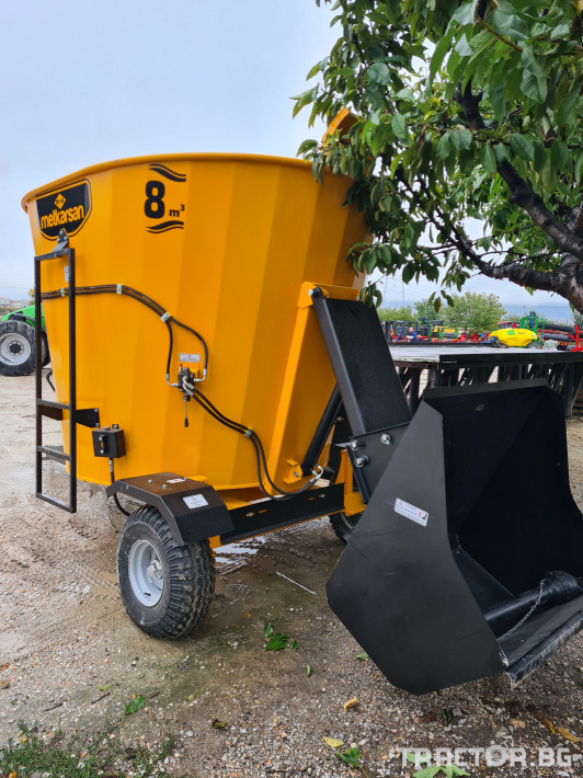 Машини за ферми Миксер ( смесител ) хранилка 8м3 1 - Трактор БГ